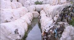 Austrijski stručnjaci počeli s uzimanjem uzoraka iz baliranog otpada u Brezju