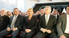 Predsjednica Grabar Kitarović nazočila svečanoj sjednici Gradskog vijeća uz Dan grada