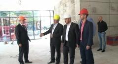 Ministar Maras obišao gradilište novog varaždinskog hotela Park